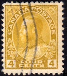 Canada Scott 110 Used.