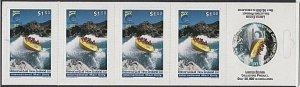 NEW ZEALAND Universal Mail $7.50 International Mail Booklet Goldfields Jet..R513