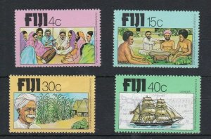 FJ25) Fiji 1979 100th Anniversary of Arrival of Indians in Fiji MUH
