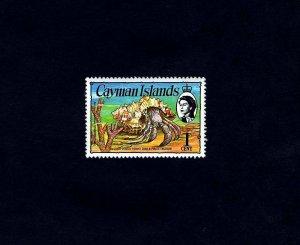 CAYMAN IS - 1978 - QE II - HERMIT CRAB - TREASURE - # 346 - MINT - MNH SINGLE!