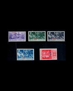 VINTAGE: ITALIANE 1930 OG BH,LH SCOTT # 12-16 $ 22.50 LOT # VSANISIRO1930H-Z1