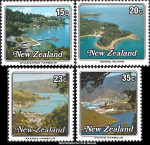 New Zealand Scott 685-688 Mint never hinged.