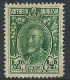 Southern Rhodesia SG 15b SC 16c Perf 14  Used  see scan and details
