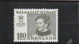 Greenland  Scott#  97  MNH