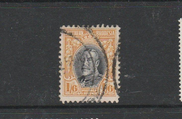 Southern Rhodesia 1931/7 1/6 George V, P12 Used SG 24