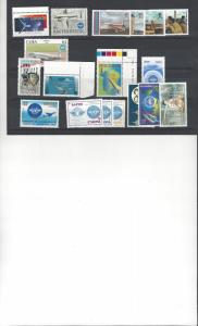 ICAO 50th Anniversary.  11 Dif Sets MNH