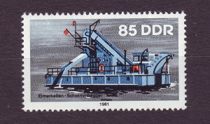 J23246 JL stamps 1981 DDR germany hv of set mnh #2226 ship