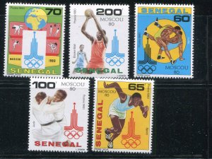 Senegal #534-8 MNH - Make Me A Reasonable Offer