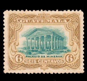GUATEMALA STAMP 1902 SCOTT # 117. UNUSED. # 10