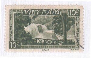Viet Nam, Sc 1 (1), Used, 1951, Bonqour Falls