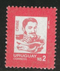 Uruguay Scott 1193 MNH** stamp from 1980 set