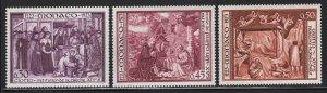 Monaco 1973 St Francis First Creche set Sc# 880/C78 NH