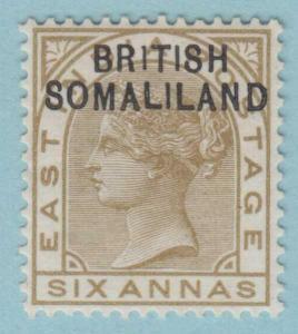 BRITISH SOMALILAND SG 7a - 1 INSTEAD OF I MINT OG * RARE VARIETY NO FAULTS !