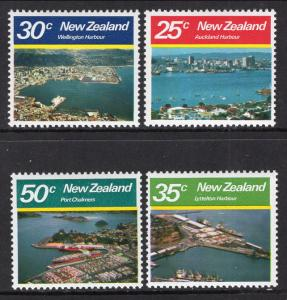 New Zealand 711-714 MNH VF