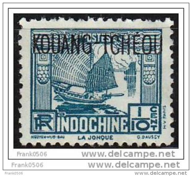 French Indo-China, 1931, Kouang Tcheou Overprint, MH