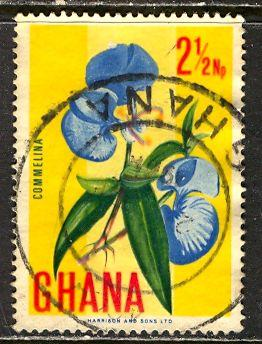Ghana; 1967: Sc. # 289: O/Used Single Stamp