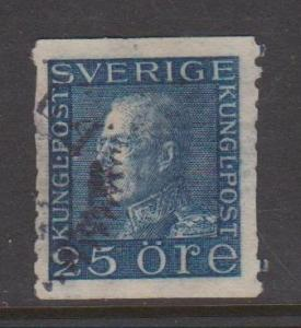 Sweden Sc#175 Used badly thinned