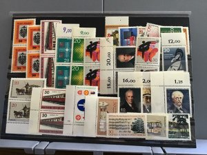 Germany  1970's mint never hinged  stamps  R23688