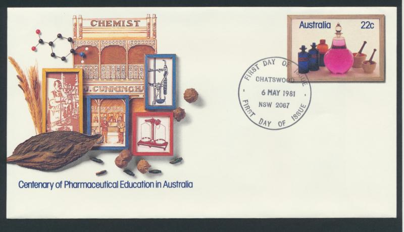 Australia PrePaid Envelope 1981  E92 Pharmacy Education in Australia