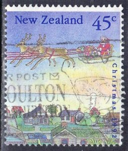 NEW ZEALAND SC# 1127 **USED** 1992 45c SEE SCAN