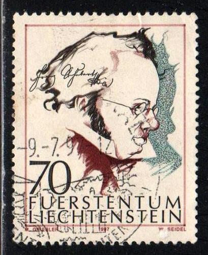 Liechtenstein # 1096 ~ Used, HMR ~ cv .95