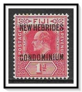 New Hebrides - British #11 King Edward VII MH