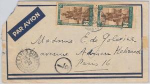 FRENCH SDAN KHARTOUM  السودان -  POSTAL HISTORY - COVER to FRANCE 1940