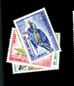Laos #122-25 MINT F-VF OG NH