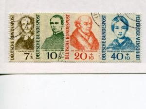 Germany #B344-47  Mint VF Used