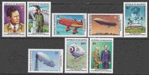 Maldive Islands #701-8 F-VF Mint NH ** Lindbergh's Solo Flight