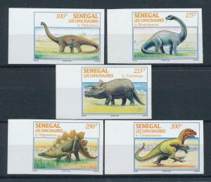 [106173] Senegal 1994 Prehistoric animals dinosaurs Brontosaurus Imperf. MNH