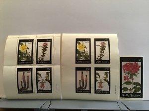 Staffa Scotland plant flowers Canarina  MNH stamps  R25315