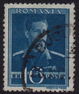 Romania - 1940 - Scott #512 - used - King Michael