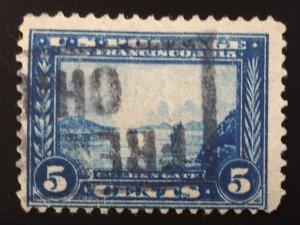 US #399 Used Golden Gate 5c (p12)