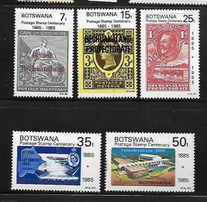 BOTSWANA, 363-367, MNH,  BECHUANALAND PROTECTORE
