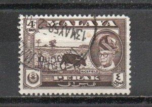 Malaya - Perak 129 used