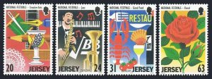 Jersey 840-843,MNH.Michel 827-830. EUROPE CEPT-1998.National Festivals.