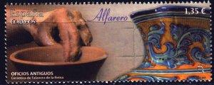Spain. 2017. 5196. Potter, ceramics of the city of Talaverna. MNH.