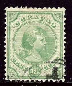 Netherlands Antilles 20 Used 1892 issue    (ap5742)