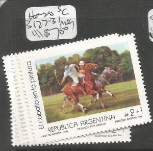 Argentina Horses SC B127-31 MOG (6cxl)