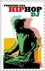 US 5483 Hip Hop DJ forever single (1 stamp) MNH 2020 after 7/15