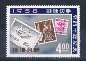 Ryukyu 43 MNH Ryukyu stamps 1958 (R0608)+