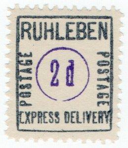 (I.B) Germany Cinderella : Ruhleben POW Camp - Express Delivery 2d