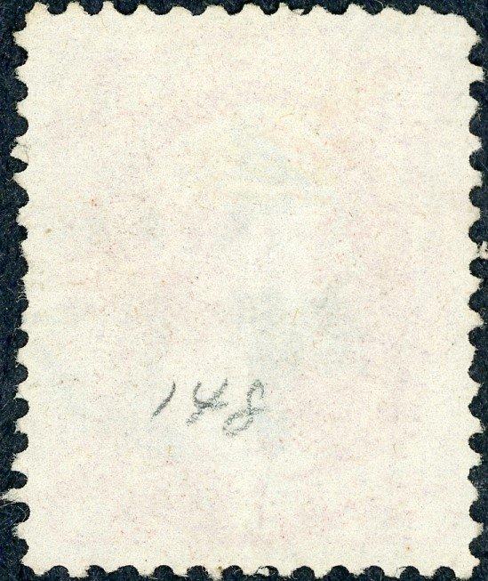 #148 – 1870-71 6c Lincoln, carmine. Used.