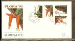 1993 - Rep. Surinam FDC E164 - Flora - Plants - Medicinal Plants [LN023]