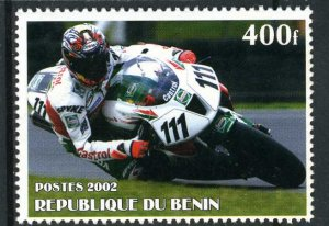 MOTORCYCLE CIRCUIT Set 1 value Perforated Mint (NH)