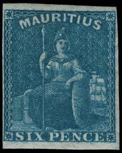 Mauritius Scott 18 Gibbons 32 Mint Stamp