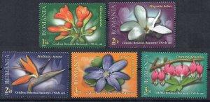 2010 Romania 6452-6456 Flowers 10,00 €