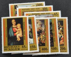 DYNAMITE Stamps: Niger Scott #614-621 – MNH