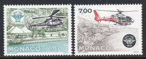 Monaco 1928-1929 Helicopters MNH VF